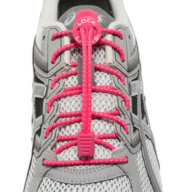 Lock Laces Run Laces - rose
